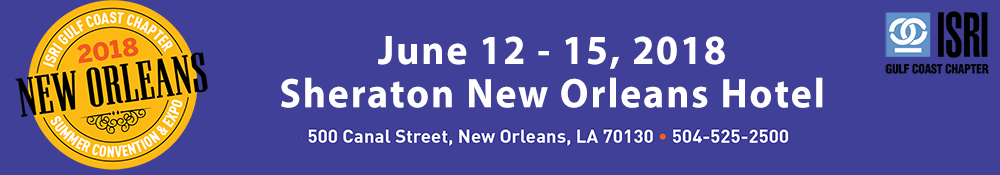 ISRI Gulf Coast Chapter 2018 Summer Convention & Expo